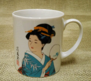 geisha tea cup