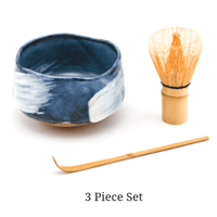 Blue & White Matcha Bowl Set