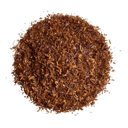 Enjoy a cup of Caramel Rooibos red tea.