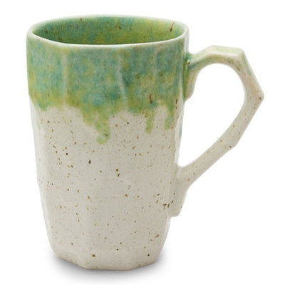 Charmed - Stoneware Tea Mugs Green