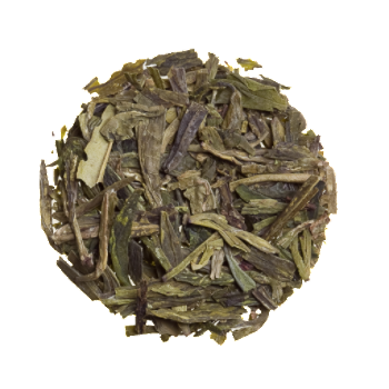 Dragonwell - Long Jing  - Organic Loose Green Tea - Good Life Tea
