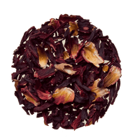 Organic Hibiscus - Loose Fruit tea Tisane sold by the ounce