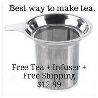 Get Free Tea - Don't forget this important item. - On Sale