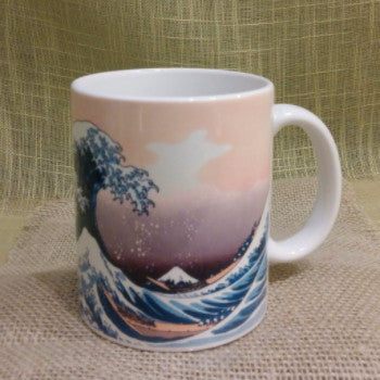 Japanese Hokusai Woodblock Print Tea Mugs - Good Life Tea