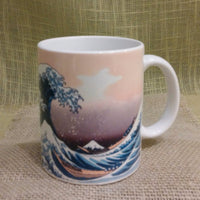 Hokusai Woodblock print The  Wave mug