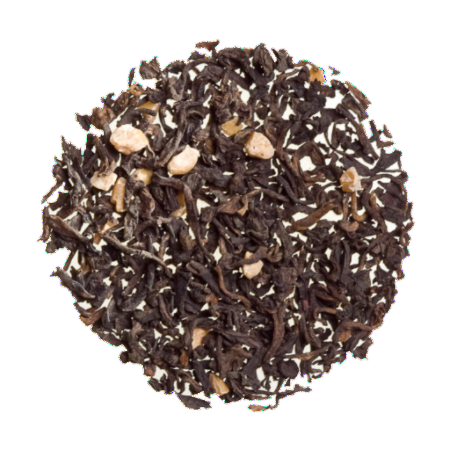 Scottish Caramel Pu-erh - Organic flavored loose Black Tea.