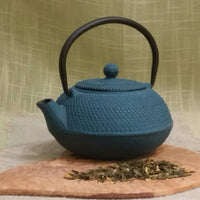 Japanese Style Cast Iron Teapot Hobnail 20 oz - 3 colors
