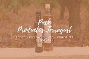 Pack regalo productos Terragust