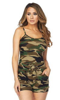 Camouflage Microfiber Top - SohoGirl.com