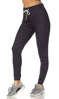 Lightweight Drawstring Jogger Pants in Black (Plus Sizes Available) - SohoGirl.com