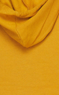 Crop Hoodie Sweater and Sweatpants - Mustard - SohoGirl.com