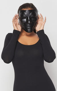 V for Vendetta Anonymous Mask in Black - SohoGirl.com