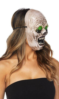 Green Eyed Zombie Mask