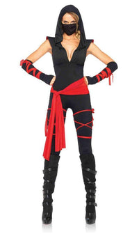 Sleeveless Deadly Ninja Costume (S-XL) - SohoGirl.com