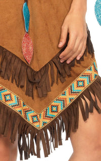 Native Princess Costume - Brown - SohoGirl.com