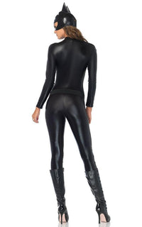 Villainess Vixen Costume in Black