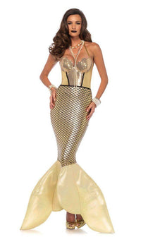 Golden Goddess Mermaid Costume - SohoGirl.com