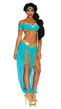 Oasis Princess Costume in Blue - SohoGirl.com