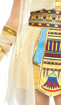 The Nile Mummy in Gold - SohoGirl.com