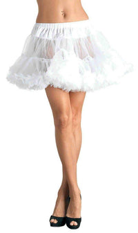 Layered Tulle Petticoat in White - SohoGirl.com