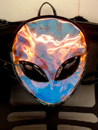 Alien Mini Backpack - Multi Color