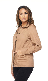 Beige Utility Trench Coat - SohoGirl.com