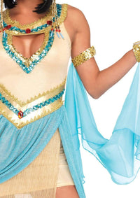 Queen Cleopatra Costume - Gold - SohoGirl.com