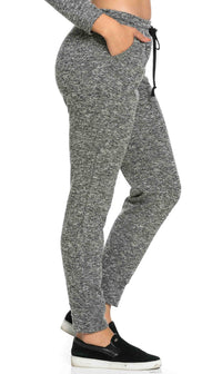 Comfy Drawstring Jogger Pants in Charcoal