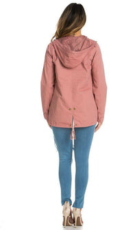 Blush Pink Hooded Parka Coat (S-3XL) - SohoGirl.com