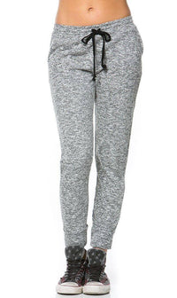 Comfy Drawstring Jogger Pants in Gray (Plus Sizes Available) - SohoGirl.com