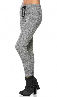 Comfy Drawstring Jogger Pants in Gray (Plus Sizes Available)