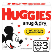 Load image into Gallery viewer, Huggies Snug & Dry Size 3