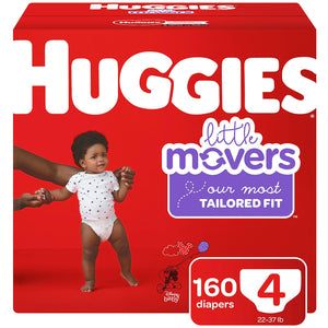 Huggies Little Movers Size 4