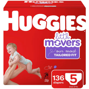 Huggies Little Movers Size 5