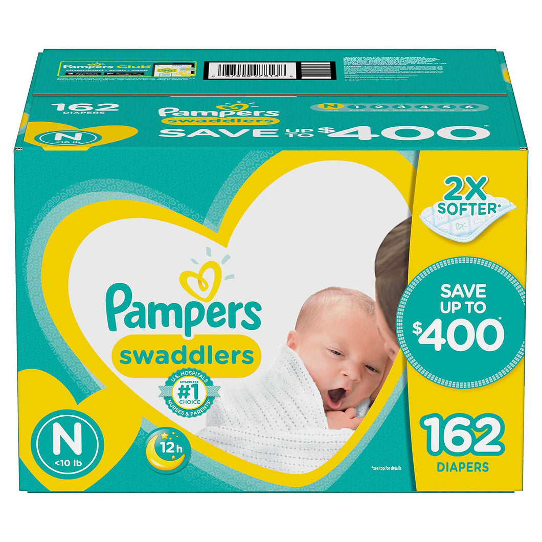 Pampers Swaddlers Newborn