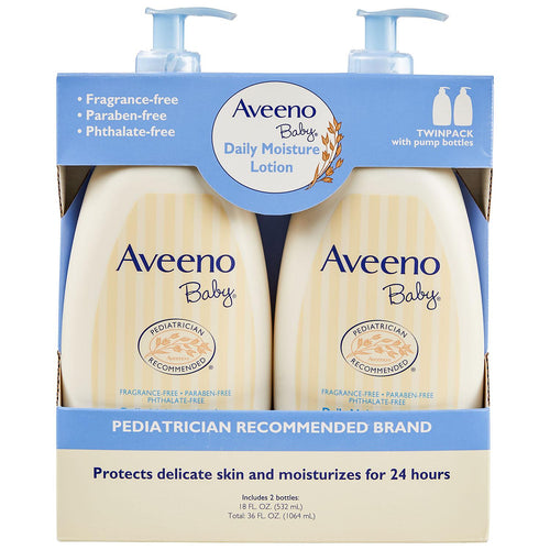 Aveeno Baby Lotion, Fragrance Free
