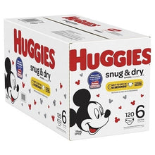 Load image into Gallery viewer, Huggies Snug & Dry Size 6