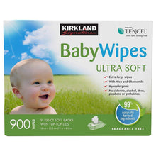Load image into Gallery viewer, Kirkland Signature Baby Wipes (Fragrance free)