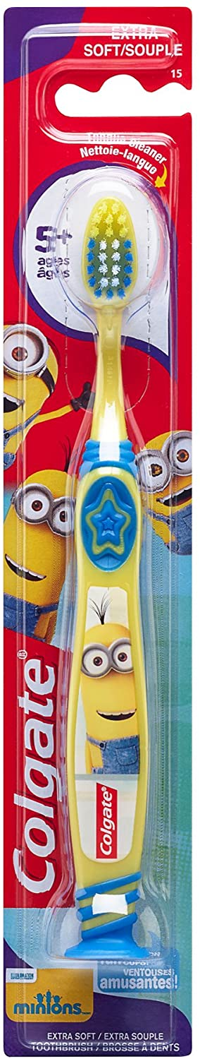 Colgate Kids 5+yrs Single Toothbrush (Minions)