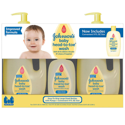 Johnson's Baby Head-to-Toe Wash & Shampoo