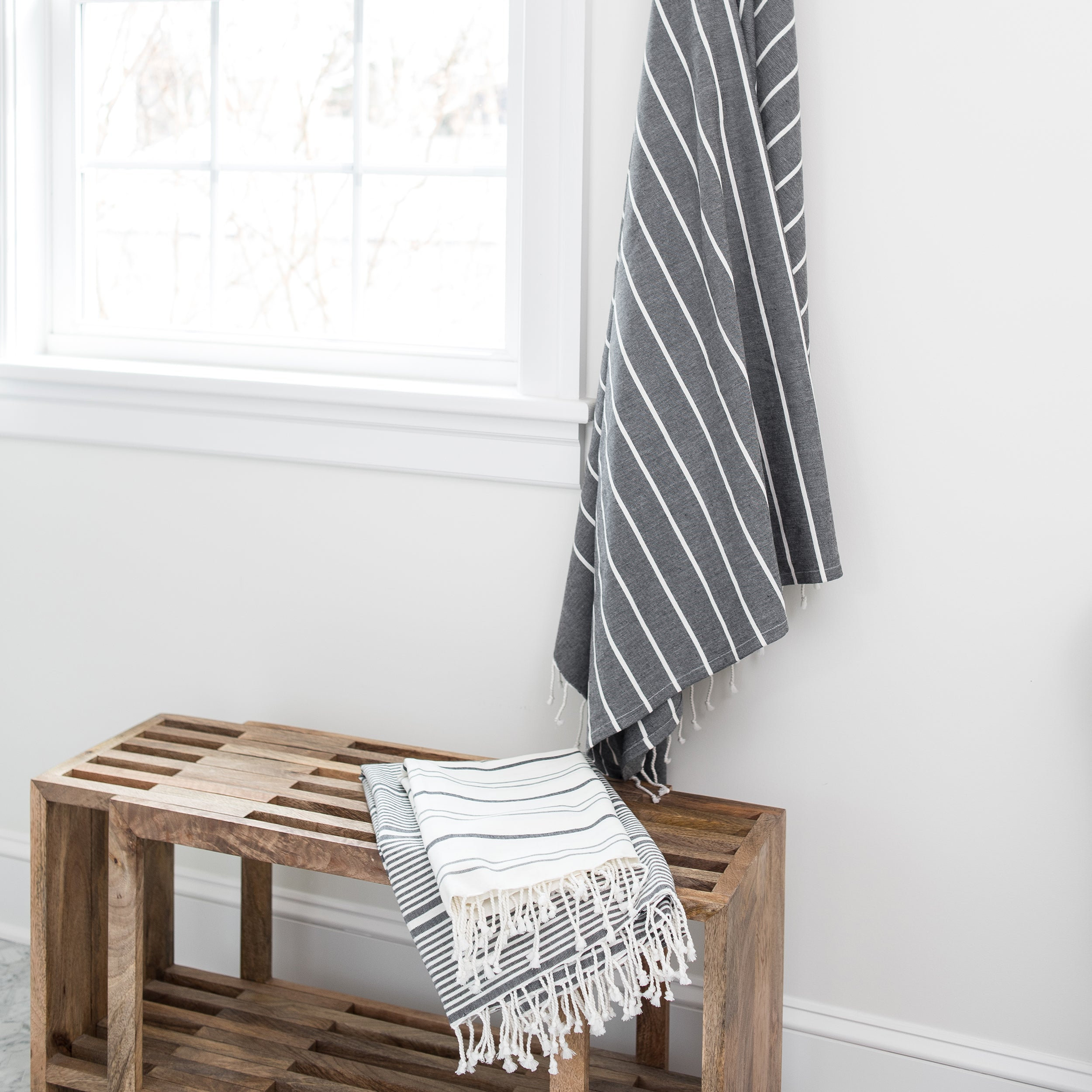 Anjuna Fouta Large - Charcoal