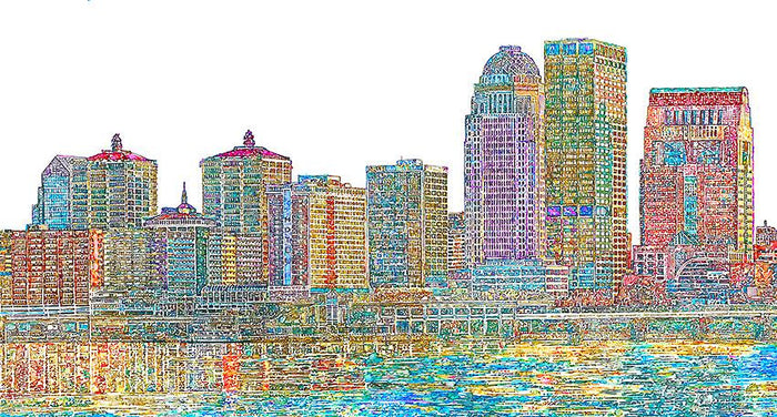 Paul Reynolds - Mini Louisville Skyline