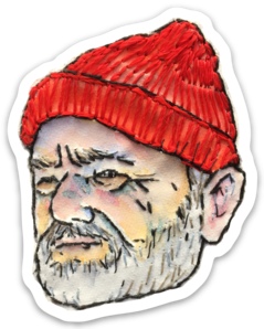 Bri Bowers - Zissou Embroidery Sticker