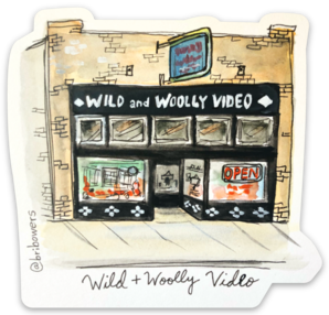 Bri Bowers - Wild and Woolly Video Watercolor Sticker