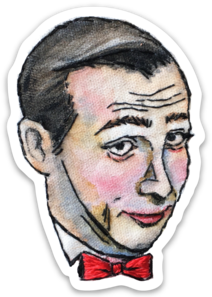 Pee Wee Embroidery sticker by Bri Bowers