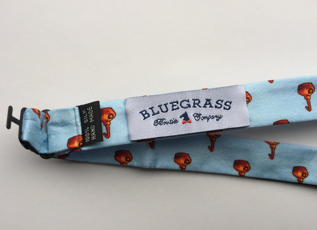 Bluegrass Bowtie Company - Blue Copper Pot Bowtie