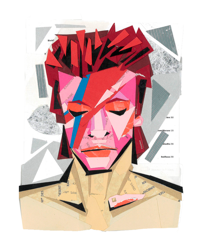 Jenna White - David Bowie Print