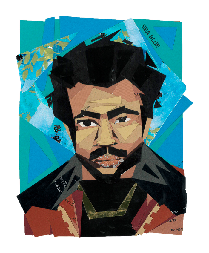 Jenna White - Childish Gambino Print