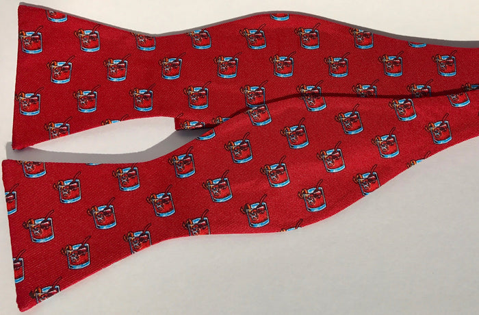Bluegrass Bow-tie Company - Red Old Fashion Bow-tie
