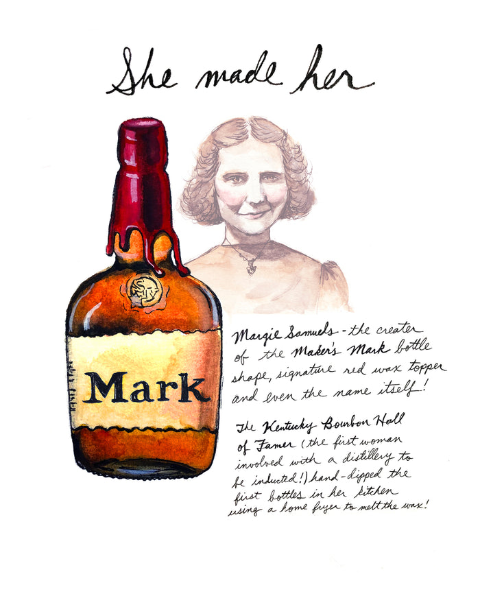 Bri Bowers  - She Made Her Mark Print (Margie Samuels)